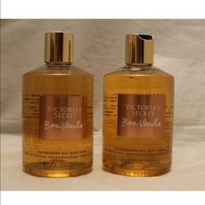 Victoria secret bare vanilla body wash shower gel